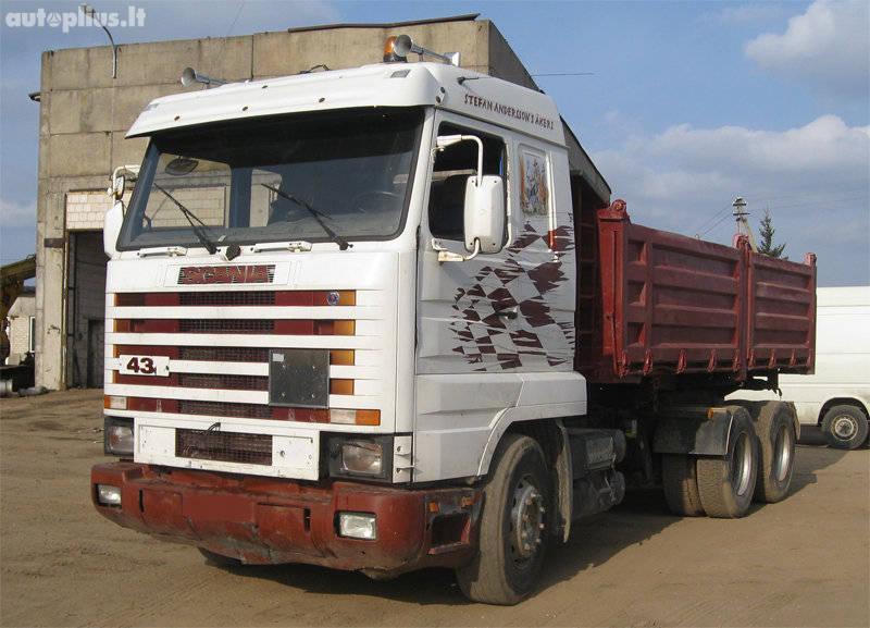 Scania, 143-420 6×4, dump 1