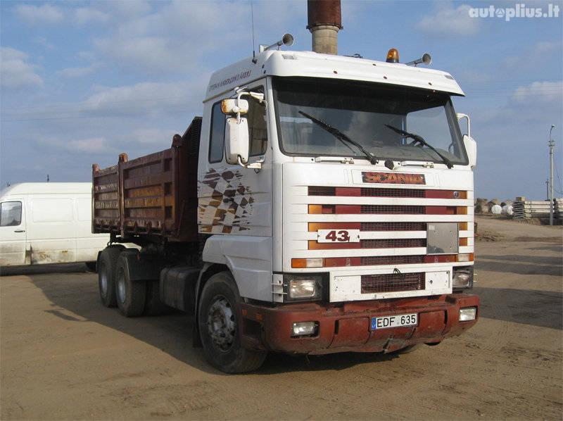 Scania, 143-420 6×4, dump 2