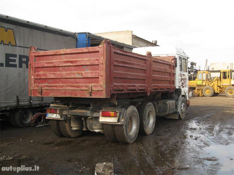 Scania, 143-420 6×4, dump 3
