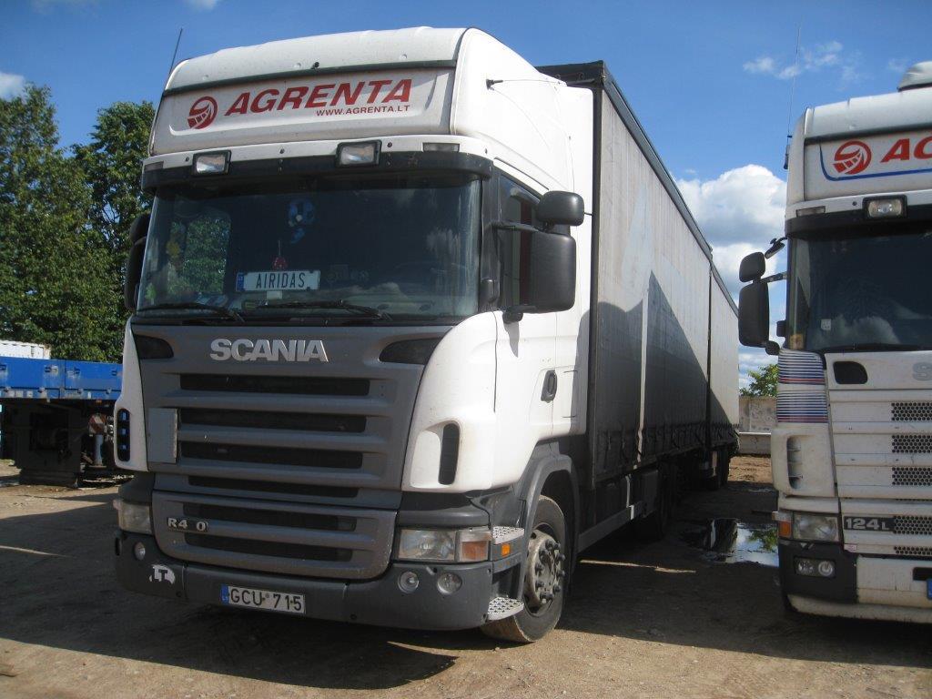 Scania R124 420 2006 Euro4 118m3 autotraukinys Jumbo 1