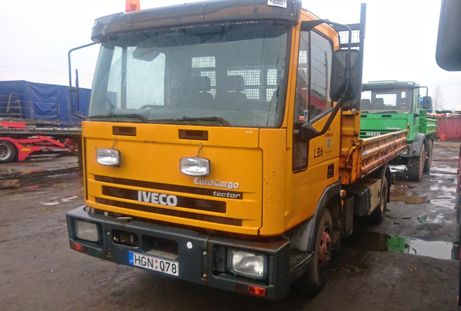Iveco 75E17 Tipper, 2001 1